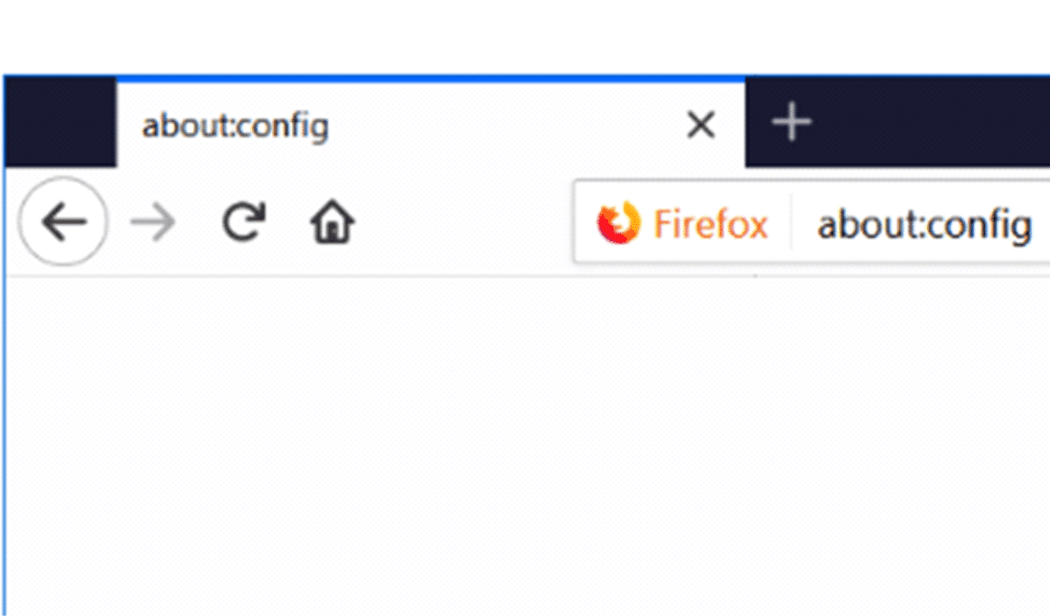 Firefox - About:Config